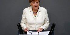 Angela Merkel a affirmé qu'elle assumait sa politique migratoire.