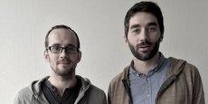 De gauche à droite, Sébastien Brault et Romain Flèche, les fondateurs de BYM