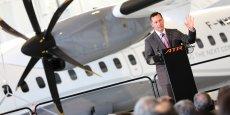 Patrick de Castelbajac, président exécutif d'ATR, serait sur le départ.