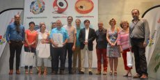 Les lauréats du 1er palmarès des #DéDé, le 5 juillet à Nîmes