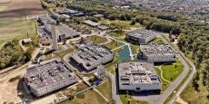 """Les data centers de Data4, à Marcoussis, affichent une """"puissance informatique"""" de 18 MW."""