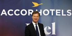 """""""Le plan de transformation d'HotelInvest est un plan à quatre ans, trois ans se sont passés et on est en avance et il sera bien terminé à horizon du printemps 2017"""", a affirmé le Pdg d'Accorhotels Sébastien Bazin."""
