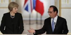 François Hollande et Theresa May se sont rencontrés jeudi à Paris.