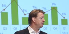 Pionnier de la téléphonie mobile, Ericsson bataille depuis le début des années 2000 pour maintenir son rang sur le marché des réseaux face à ses concurrents Nokia, Siemens ou Alcatel-Lucent.