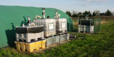 Le dispositif Ecobang permet le traitement de 500 à 5 000 litres d'eau polluée par an
