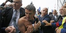 Le 5 octobre 2015, le DRH d'Air France Xavier Broseta avait été pris à partie par plusieurs salariés.