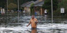 """La gravité de la catastrophe en Louisiane a conduit le gouverneur de l'Etat, John Bel Edwards, à la qualifier de """"sans précédent""""."""