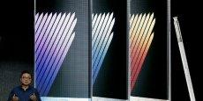 Koh Dong-jin, président de Samsung, a présenté début août son nouveau smartphone : le Galaxy Note 7