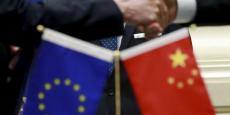 """""""Notre empire chinois a mis cinq siècles à s'unifier, alors que la graine de leur « union » a été semée il y a seulement 60 ans."""" (photo: Xi Jinping reçu par Martin Schulz au Parlement européen le 31 mars 2014)"""