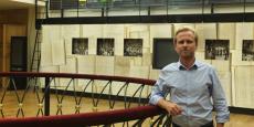 Vincent Mandon, à quelques mètres de ses bureaux situés au sein du Palais Brongniart (Bourse)