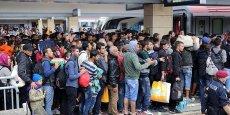 L'Allemagne a connu une hausse démographique exceptionnelle en 2015 avec l'arrivée des réfugiés.