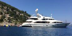 Les chantiers allemand et italien se portent bien grâce à leur spécialisation dans les grands bateaux à moteur, y compris les méga-yachts de luxe. (Photo: un yacht de 44 mètres construit par l'italien Benetti) )