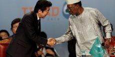 Le premier ministre japonais Shinzo Abe a annoncé le week-end dernier un grand plan d'investissements du Japon en Afrique afin de séduire ce continent où les opportunités économiques ne manquent pas.