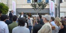 L'inauguration du siège de campagne de la CGPME 30, le 7 septembre à Nîmes