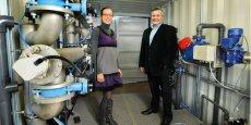 C. Ceresola (ingénieure) et B. Gillmann (P-dg) ont développé le procédé Bio Sea après 2 ans de R&D