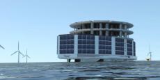 Plateforme flottante MLiner