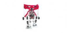 E-rambo, l'un des robots qui participera à la course de robot.