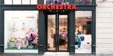 Le groupe Orchestra dispose de 1 800 boutiques dans le monde