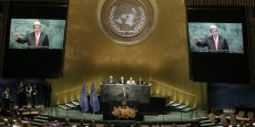 """""""La forte dynamique mondiale continue pour l'action climatique est sans précédent"""", s'est ainsi réjoui Ban Ki Moon ce matin, alors que le secrétaire d'Etat des Etats-Unis John Kerry a insisté sur le signal fort ainsi envoyé au secteur privé, qui aura une grande responsabilité dans la mise en oeuvre de l'accord."""