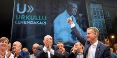 Le lehendakari (président basque) sortant Iñigo Urkullu sort renforcé des élections régionales.
