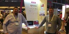 Pierre-Marie Conte et Loïc Lozano, co-fondateurs de Pack Éditions