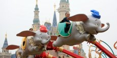 Le parc Disneyland de Shanghai ouvert en juin dernier est la cible principal du patron de Wang.
