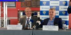 Michael O'Leary, le patron de la compagnie low-cost Ryanair, était à Toulouse mardi 27 septembre.