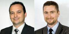 Fabien portes, président du Medef Béziers Ouest Hérault, et Olivier Oddi, président de la CCI de Sète