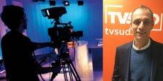 """Le directeur des antennes de TV Sud Jean Brun veut créer """"une chaîne d'information locale différente""""."""