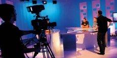 Plateau de tournage de TVSud.
