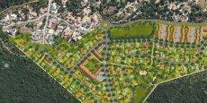 Le Domaine des Roches Blanches, nouveau projet d'aménagement porté par GGL à Nîmes.