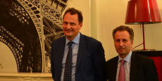 Sébastien Hénin et Arnaud Raymond