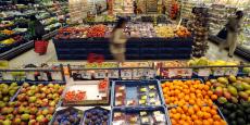 Un Carrefour Market, à Bruxelles.