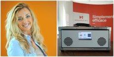 Anne-Marie de Couvreur, présidente de Mediameeting / Le terminal Tidit