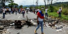 Les affrontements du 26 octobre 2016 au Venezuela