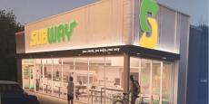 Les nouveaux restaurants Subway s'étaleront sur 100 à 120 m2.