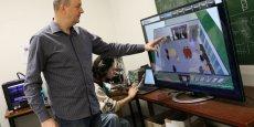 NeoCampus a mis en place des capteurs dans le CampusLab pour reccueillir des données sur la pièce en temps réel