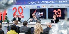 Bernard Keller,  Alain Di Crescenzo et Carole Delga se sont exprimés sur Airbus lors de la convention Aeromart