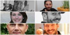 Aurélien Cluzel, Pierre Osswald  Carole Zisa-Garat, Hafid El Mehdaoui, Éric Gaigneux et Xavier Salort