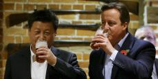 Le président chinois Xi Jinping avait trinqué l'année dernière avec l'ancien premier ministre britannique David Cameron dans le pub The Plough at Cadsden, récemment passé sous pavillon chinois.