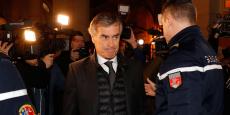Jérôme Cahuzac lors de son arrivée au tribunal, le 8 décembre 2016.