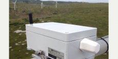Le boîtier conçu par Sereema s'installe directement sur les éoliennes pour en optimiser le fonctionnement