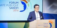 Philippe Tcheng, Vice-Président, Relations Gouvernementales France chez Sanofi lors du Forum Santé Publique