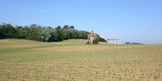Des terres agricoles dans le Gers