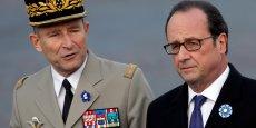 Le chef d'état-major des armées, le général Pierre de Villiers, vise un effort de défense à hauteur de 2% du PIB en 2022. Soit 42,5 milliards d'euros (en euro constant de 2017).