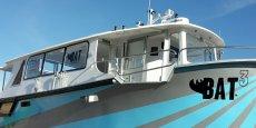 Construite en huit mois par CNB, l'Avocette est le nouveau bateau qui prendra le relais des catamarans de la navette fluviale quand l'un d'eux sera en maintenance.