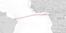 Huawei participe au consortium qui projette de poser le câble South Atlantic Inter Link (SAIL), qui reliera courant 2017 le Cameroun au Brésil.