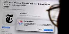 Apple a retiré les applications en chinois et en anglais de l'App store en Chine le 23 décembre, a signalé le quotidien américain mercredi.