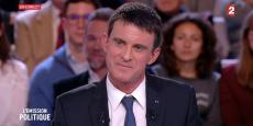 Manuel Valls était l'invité de « L'Emission politique » sur France 2 jeudi soir.