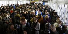 Les usagers du métro londonien doivent faire avec un service très limité ce lundi 9 janvier.